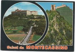 A3237 Cassino (Frosinone) - Abbazia Di Montecassino - Panorama - Vedute - Multipla / Viaggiata 1979 - Italia