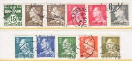 DENMARK  382 +   (o)  1961-3  Issue - Denmark