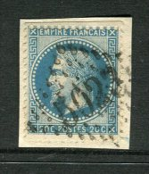 Superbe N° 29 Cachet GC 5023 Constantine Algérie - 1863-1870 Napoléon III. Laure