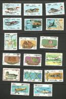 Cambodge N°1086à 1089,1102,1103,1107,1125 à 1128,1131,1136,1161 à 1164 Cote 3.45 Euros - Cambodia