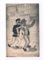 95 SAINT OUEN L'AUMONE Café MALHERBE En TGP Fantaisie AVOIR Pas Courante - Saint-Ouen-l'Aumône