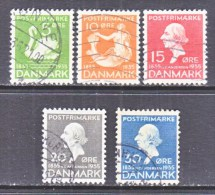 DENMARK  246 +     (o)  1935  Issue - Used Stamps