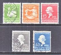 DENMARK  246 +     (o)  1935  Issue - 1913-47 (Christian X)