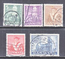DENMARK  252-6     (o)  CHURCH  REFORM - Used Stamps