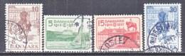 DENMARK  258-61     (o) - 1913-47 (Christian X)