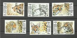 Cambodge N°1577 à 1582 Cote 4 Euros - Cambodia