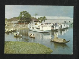 East Pakistan Bangladesh Picture Postcard The Land Of Rivers & Boats View Card - Bangladesh