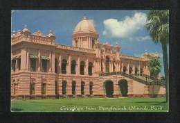 Bangladesh Picture Postcard Chittagong Nawab Bari View Card - Bangladesh