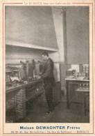 Magasin Chromo Bordeaux Ets DEWATCHER   - Format 17cm  Docteur ROUX Dans Son Laboratoire - Trade Cards