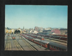 Norway Picture Postcard The Railway Station East View Card - Norvegia