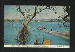 Kenya Picture Postcard Likoni Ferry Entrance To Mombasa View Card - Kenia