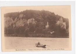 Marche-les-Dames : Château D'Aremberg Et Vue Des Rochers. Vue Prise De La Meuse - Namen