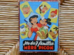 JEU DES 7 FAMILLES  MERE PICON  Donald/Mickey/Plutot/Dingo/Les 7 Nains/Les 3 Petits Cochons/M�re Picon