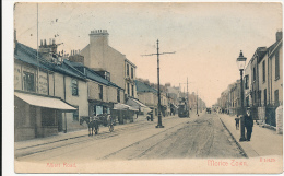 Morice Town, Albert Road - DEVON - (STORES, TRAM, WAGON) # E 16425, Cancelled At DEVONPORT In 1907, Hard To Find Postcad - Unclassified