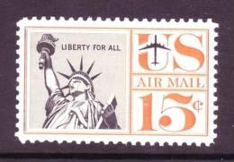 U.S. C58    **   Statue Of Liberty - Air Mail