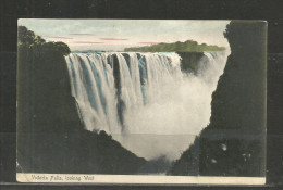 257b * SAMBIA * VICTORIA FALLS * LOOKING WEST * 1911  **!! - Sambia