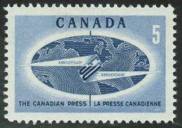 CANADA 1967, # 473, CANADIAN PRESS: GLOBE,  M NH - 1952-.... Règne D'Elizabeth II