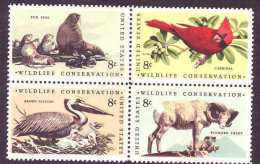 U.S. 1464-67   **   Wildlife Conservation - United States