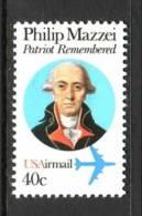 U.S. C98    **   PHILIP MAZZEI - Air Mail