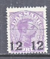 DENMARK  184   (o) - 1913-47 (Christian X)