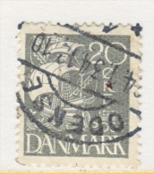 DENMARK  193   (o)   1927  Issue - Used Stamps