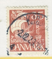 DENMARK  196   (o)   1927  Issue - 1913-47 (Christian X)