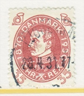 DENMARK  218   (o) - 1913-47 (Christian X)