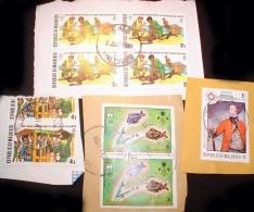 Maldive Islands KILOWARE StampBag 60g (2.1oz) Manufactured*    [vrac Kilowaar Kilovara Stampmixture] - Lots & Kiloware (mixtures) - Max. 999 Stamps