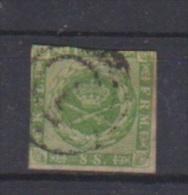Danemark //  N9  //  8 S Vert  //  Oblitéré  // - 1864-04 (Christian IX)