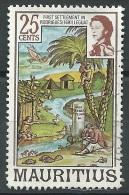 Mauritius, 1978, 25c, 1st Settlement Of Rodrigues, Nr.447 Usato° - Mauritius (1968-...)