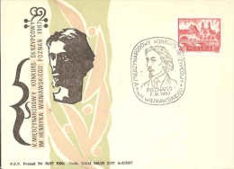 POLOGNE  -  POLAND  -  1967 - WIENIAWSKY - Muziek