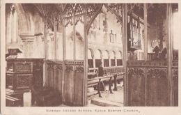 EARLS BARTON CHURCH INTERIOR - Northamptonshire