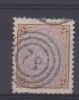 Danemark //  N 21  //  48 S  Bistre Et Lilas //  Oblitéré  // - 1864-04 (Christian IX)