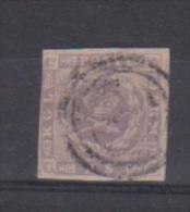 Danemark //  N 6  //  16 S  Violet  //  Oblitéré  // - 1864-04 (Christian IX)