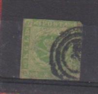 Danemark //  N 5  //  8 S  Vert   //  Oblitéré  // - Gebraucht