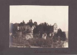 LAROCHETTE / GRAND DUCHE LUXEMBOURG  PHOTOGRAPHIE SUR CARTON 1895 - Old Paper