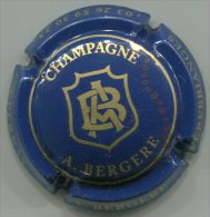 CAPSULE-CHAMPAGNE BERGERE A N°13a Bleu & Or - Other