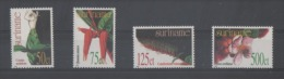 Suriname 1277/80  XX Neufs - Fleurs