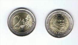 2€ Commémorative - PASCOLI *** ITALIE 2012 ***  Superbe Non Circulée  ! ! ! ! - Italia