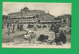 CARTE 269 BIARRITZ Le Casino Et La Plage - Biarritz