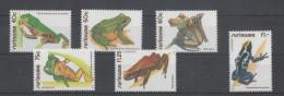 Suriname 823/5 & PA 88/90  XX Neufs - Grenouilles -