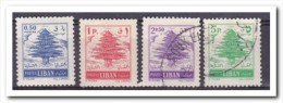 Libanon 1955, Postfris+gestempeld MNH+USED, Trees - Libanon