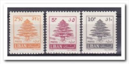 Libanon 1961, Plakker MH, Trees - Lebanon