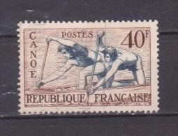FRANCE / 1953 / Y&T N° 963 : JO Helsinki (canoë) - Choisi - Cachet Rond - France
