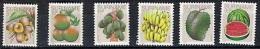 Suriname Yv 729/34  XX Neufs - Fruits -