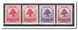 Libanon 1950, Plakker, MH, Trees - Libanon