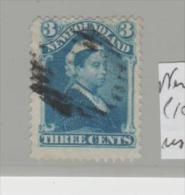 Neufundland Mi.Nr. 24 / 1873, 3 C.vVictoria, Used  O - 1865-1902