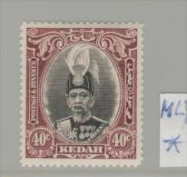 MLY Kedah  MALAYSIA - / SG . 69 * - Kedah