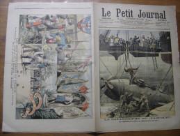 1905 LE PETIT JOURNAL 766 Catastrophe Farfadet Scaphandriers Sous Marin Boules Tir A L Arc - Periódicos