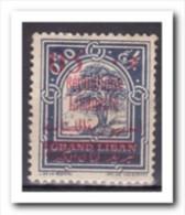 Libanon 1928, Plakker, MH, Trees - Libanon